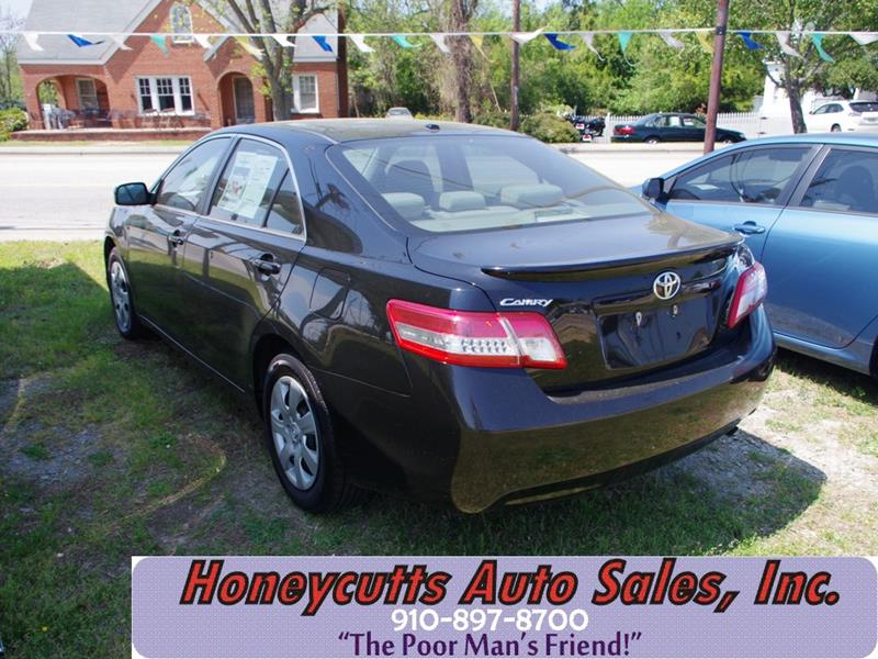 2011 Toyota Camry for sale at Honeycutt's Auto Sales, Inc. in Coats NC