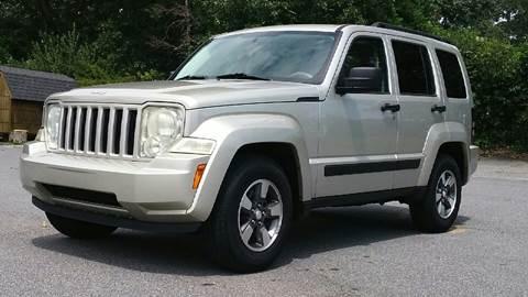 2008 Jeep Liberty for sale at Auto Source  LLC in Acworth GA