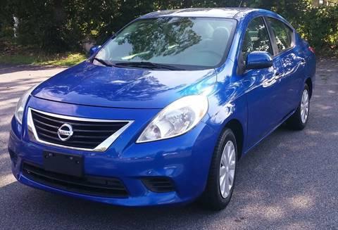 2012 Nissan Versa for sale at Auto Source  LLC in Acworth GA