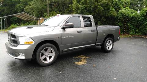 2012 RAM Ram Pickup 1500 for sale at Auto Source  LLC in Acworth GA