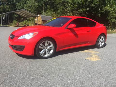 2010 Hyundai Genesis Coupe for sale at Auto Source  LLC in Acworth GA