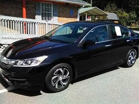 2016 Honda Accord for sale at Auto Source  LLC in Acworth GA
