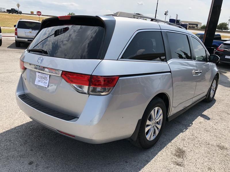 2015 Honda Odyssey Ex 4dr Mini Van In Decatur Tx Decatur