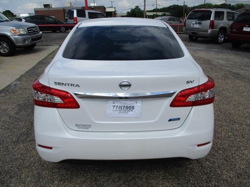 2014 Nissan Sentra SV 4dr Sedan - Decatur TX