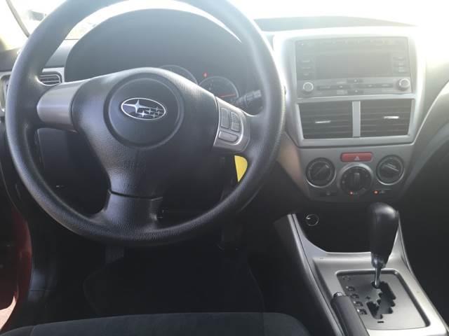 2010 Subaru Impreza AWD 2.5i 4dr Sedan 4A - Decatur TX