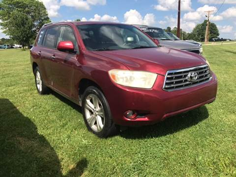 2008 Toyota Highlander for sale at Champion Motorcars in Springdale AR