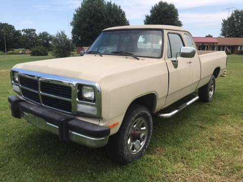 1992 Dodge RAM 250 for sale at Champion Motorcars in Springdale AR
