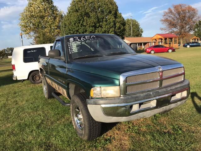 2001 Dodge Ram Pickup 1500 for sale at Champion Motorcars in Springdale AR
