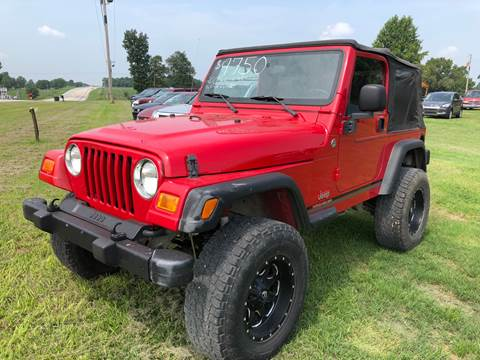 2005 Jeep Wrangler for sale at Champion Motorcars in Springdale AR