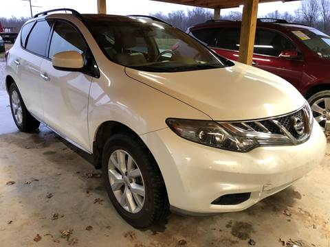 2012 Nissan Murano for sale at Champion Motorcars in Springdale AR
