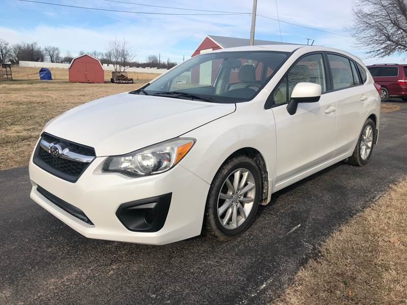 2012 Subaru Impreza for sale at Champion Motorcars in Springdale AR
