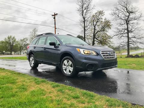2015 Subaru Outback for sale at Champion Motorcars in Springdale AR