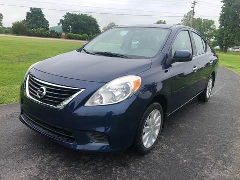 2012 Nissan Versa for sale at Champion Motorcars in Springdale AR