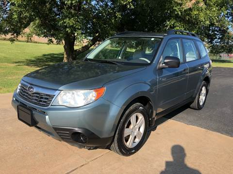 2010 Subaru Forester for sale at Champion Motorcars in Springdale AR