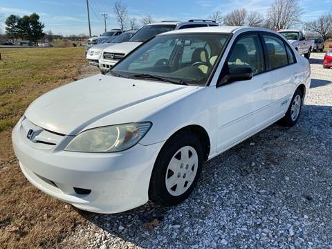 2005 Honda Civic for sale at Champion Motorcars in Springdale AR