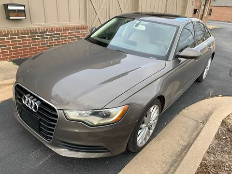 2014 Audi A6 for sale at Champion Motorcars in Springdale AR