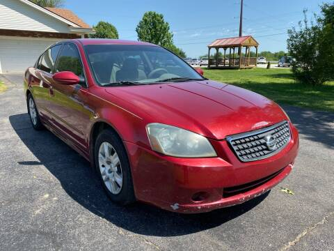 2005 Nissan Altima for sale at Champion Motorcars in Springdale AR