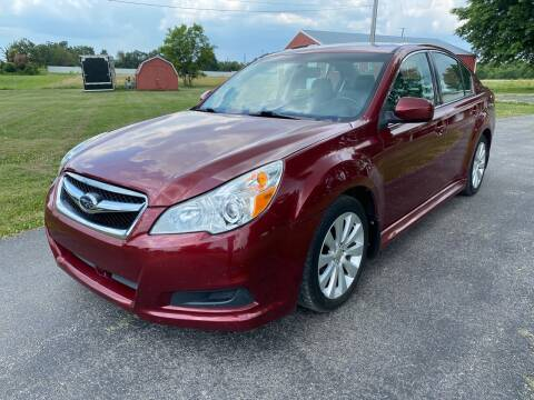 2011 Subaru Legacy for sale at Champion Motorcars in Springdale AR