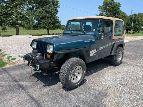 1995 Jeep Wrangler for sale at Champion Motorcars in Springdale AR