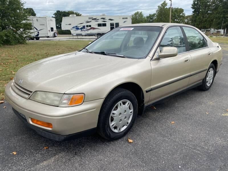 1995 Honda Accord for sale at Champion Motorcars in Springdale AR