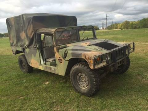 1987 HUMMER H1 for sale at Champion Motorcars in Springdale AR