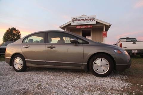 2006 Honda Civic for sale at Champion Motorcars in Springdale AR