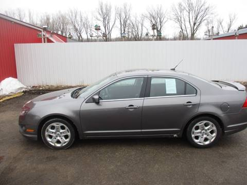 2010 Ford Fusion SE for sale at Chaddock Auto Sales in Rochester MN