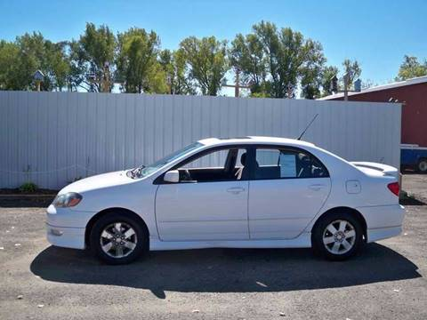 2007 Toyota Corolla for sale at Chaddock Auto Sales in Rochester MN
