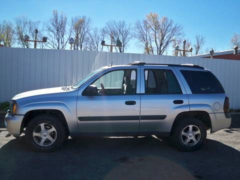 2005 Chevrolet TrailBlazer for sale at Chaddock Auto Sales in Rochester MN