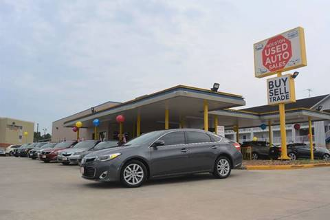 2013 Toyota Avalon for sale in Houston, TX