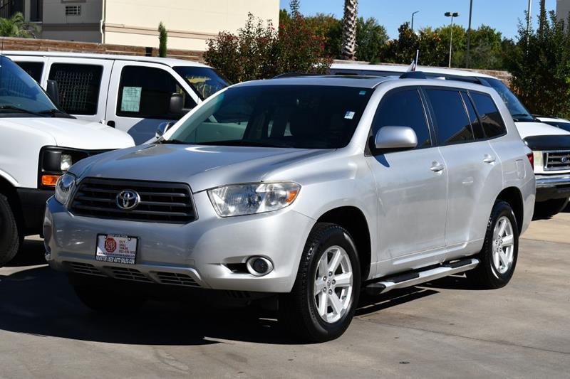Suv Auto Sales Houston Tx: 2010 Toyota Highlander SE 4dr SUV In Houston TX