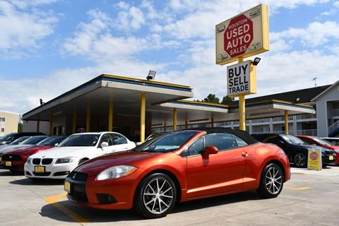 2011 Mitsubishi Eclipse Spyder for sale in Houston, TX