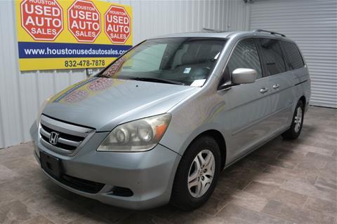 2007 Honda Odyssey for sale in Houston, TX