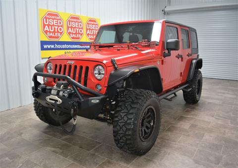 2014 Jeep Wrangler Unlimited for sale in Houston, TX