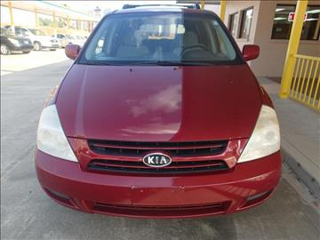 2007 Kia Sedona for sale in Houston, TX