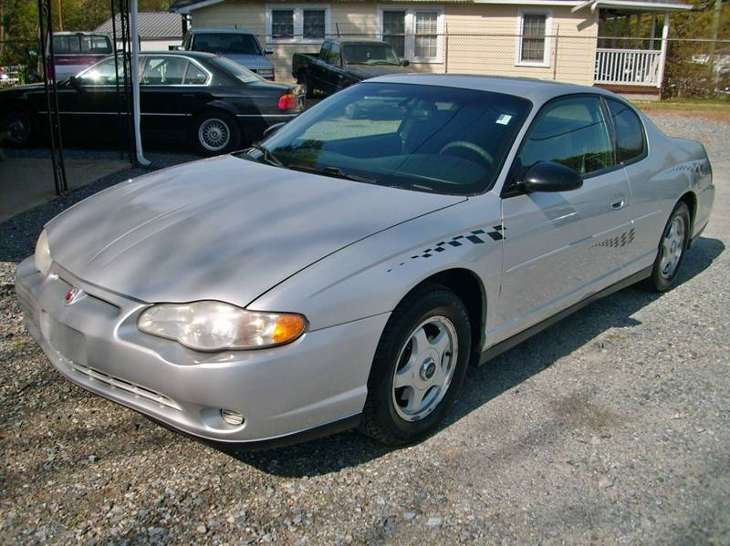 2003 Chevrolet Monte Carlo For Sale At Family Auto Sales In Mount Holly NC