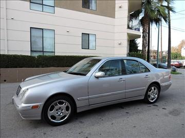 2002 Mercedes-Benz E-Class for sale in North Hollywood, CA