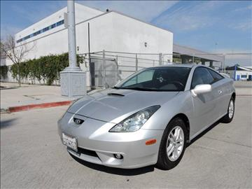 2002 Toyota Celica for sale in North Hollywood, CA