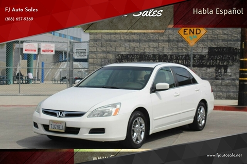Honda North Hollywood >> Honda Accord For Sale In North Hollywood Ca Fj Auto Sales
