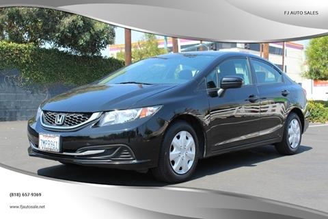 Honda North Hollywood >> Honda For Sale In North Hollywood Ca Fj Auto Sales