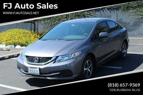 2015 Honda Civic for sale in North Hollywood, CA