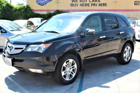 2009 Acura MDX for sale at FJ Auto Sales in North Hollywood CA