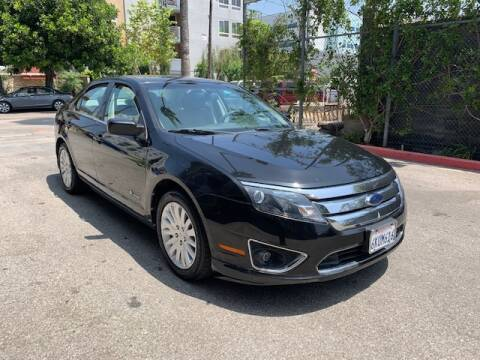 2010 Ford Fusion Hybrid for sale at FJ Auto Sales in North Hollywood CA