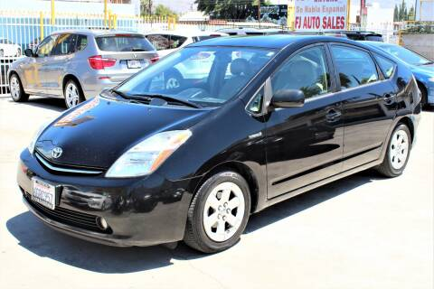 2009 Toyota Prius for sale at FJ Auto Sales in North Hollywood CA