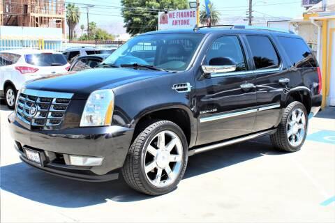 2010 Cadillac Escalade for sale at FJ Auto Sales in North Hollywood CA