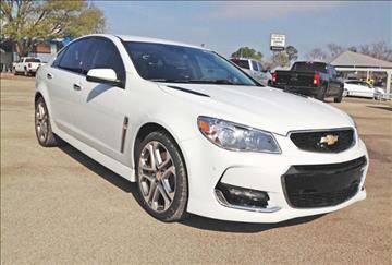Chevrolet ss for sale for Bruner motors stephenville tx