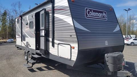 2018 colman 244BHWE for sale at Dependable Used Cars Valley in Wasilla AK