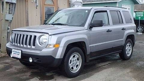 2014 Jeep Patriot for sale at Dependable Used Cars Valley in Wasilla AK