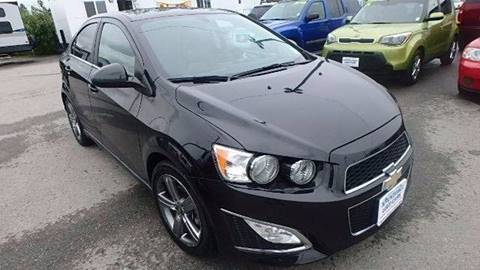 2015 Chevrolet Sonic for sale in Wasilla, AK