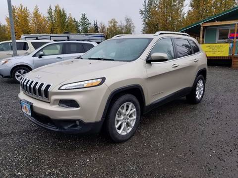 2015 Jeep Cherokee for sale at Dependable Used Cars Valley in Wasilla AK